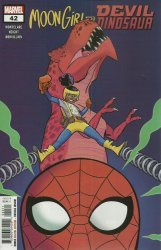 Marvel Comics's Moon Girl and Devil Dinosaur Issue # 42