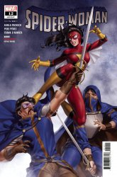 Marvel Comics's Spider-Woman Issue # 12