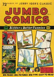 Blackthorne Publishing's Jerry Iger's Classic: Jumbo Comics Soft Cover # 1