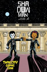Valiant Entertainment's Shadowman Issue # 1twin city