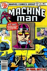 Marvel Comics's Machine Man Issue # 9