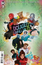 DC Comics's DCeased: Unkillables Issue # 3c