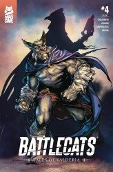 Mad Cave Studios's Battlecats: Tales of Valderia Issue # 4