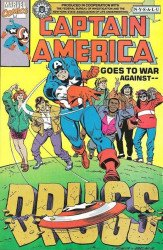Marvel Comics's Captain America: War Against Drugs Issue # 1nysalu