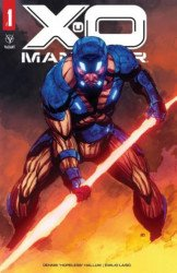 Valiant Entertainment's X-O Manowar Issue # 1new wave-a