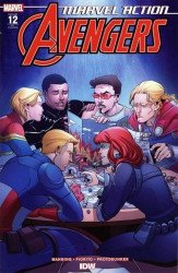 IDW Publishing's Marvel Action: Avengers Issue # 12ri