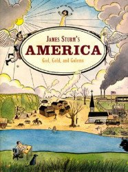 Drawn and Quarterly's James Sturm's America: God, Gold, and Golems Hard Cover # 1