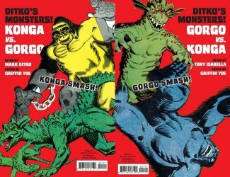 IDW Publishing's Ditko's Monsters! Issue # 1