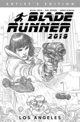 Titan Comics's Blade Runner 2019 Hard Cover # 1