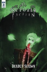 IDW Publishing's The October Faction: Deadly Season Issue # 3