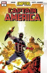 Marvel Comics's Empyre: Captain America Issue # 2