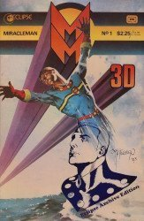 Eclipse Comics's Miracleman: 3-D Issue # 1c