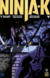 Valiant Entertainment's Ninja-K Issue # 9e