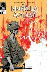 Dark Horse Comics's The Umbrella Academy: Dallas Issue # 5