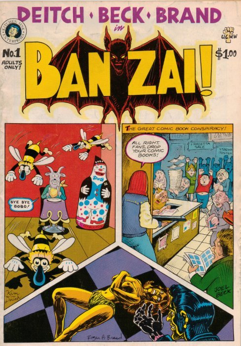 kitchen sink comics banzai 1 kitchen sink comix comicbookrealm 2631