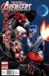 Marvel Comics's Avengers: X-Sanction Issue # 1b