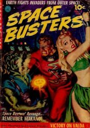 Ziff-Davis Publishing's Space Busters Issue # 2