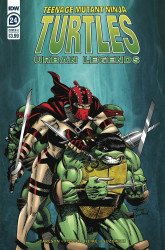 IDW Publishing's Teenage Mutant Ninja Turtles: Urban Legends Issue # 24