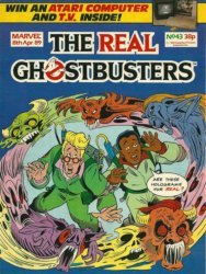 Marvel UK's The Real Ghostbusters Issue # 43