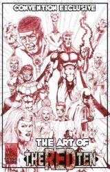 Comix Tribe's The Art of the Red Ten: Sketchbook Issue nn