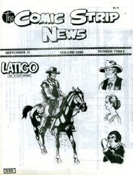 Quality Comics Group's Comic Strip News Issue # 3