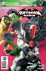 DC Comics's Batman and Robin Issue # 24
