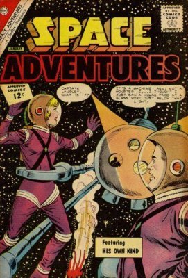Resultado de imagem para charlton publications space adventures