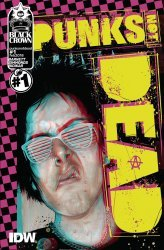 IDW Publishing's Punks Not Dead Issue # 1