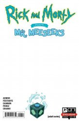Oni Press's Rick and Morty Presents Mr. Meeseeks Issue # 1blank