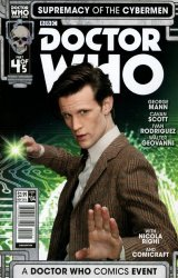 Titan Comics's Doctor Who: Supremacy Of The Cybermen Issue # 4b