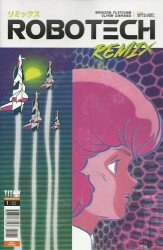 Titan Comics's Robotech Remix Issue # 1c