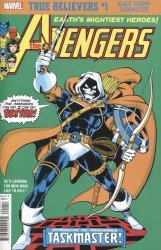 Marvel Comics's True Believers: Black Widow - Taskmaster Issue # 1