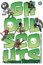 Action Lab Entertainment's Ghoul Scouts: I Was A Tweenage Werewolf Issue # 3