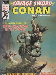 Curtis Comic Inc's The Savage Sword of Conan Issue # 4