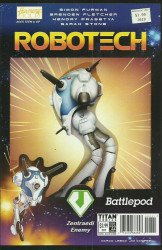 Titan Comics's Robotech Issue # 22b