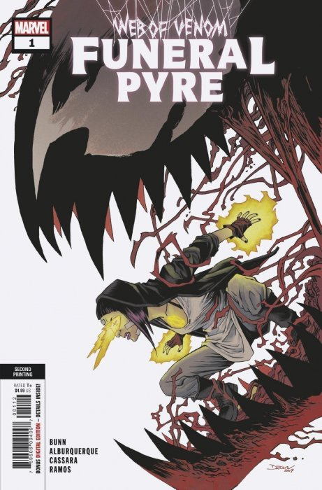 Web of Venom: Funeral Pyre Issue # 1 - 2nd print (Marvel Comics)