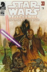 Dark Horse Comics's Star Wars: Episode III - Revenge of the Sith Issue # 3b