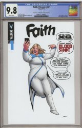 Valiant Entertainment's Faith Issue # 1e