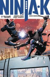 Valiant Entertainment's Ninja-K Issue # 5