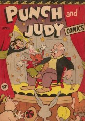 Hillman Publications's Punch and Judy Comics Issue # 8