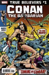 Marvel Comics's True Believers: Conan The Barbarian  Issue # 1