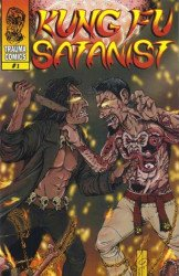 Trauma Comics's Kung Fu Satanist Issue # 1b