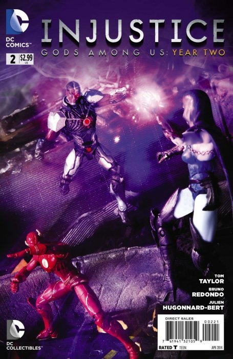 Injustice Gods Among Us Year Two 2b Dc Comics Comicbookrealm