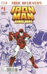 Marvel Comics's True Believers: Armor Wars Issue # 1