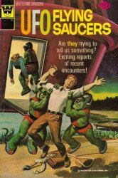 Gold Key's UFO Flying Saucers Issue # 4whitman