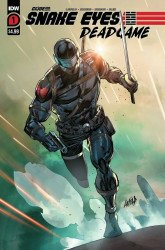 IDW Publishing's Snake Eyes: Deadgame Issue # 1 - 2nd print