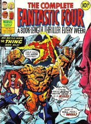 Marvel UK's Complete Fantastic Four Issue # 14