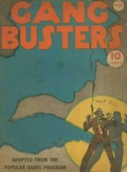 David McKay Publications's Gang Busters Issue # 17