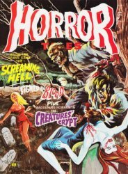 Eerie Publications's Horror Tales Issue # 1