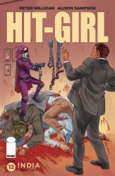 Image Comics's Hit-Girl Issue # 12c